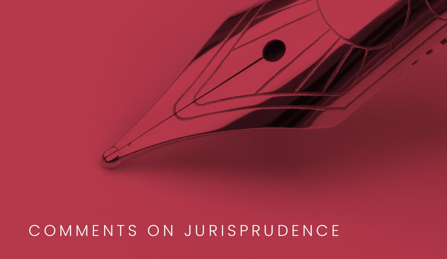 Pyxis Law - Comments on Jurisprudence